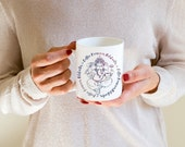 Coffee Removes Obstacles - Ganesha (holding coffee) Coffee Mug