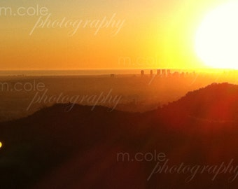 Los Angeles California Sunset | Color Photography