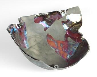 Large raku bowl #2