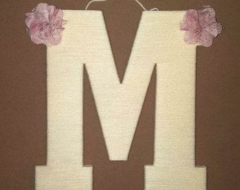 Letter M Wall Decor wood wall letter m | etsy