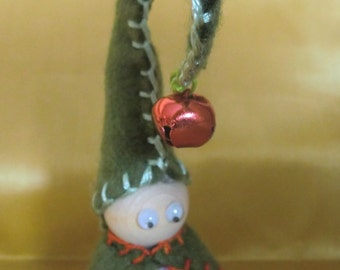 Springtime Monk Gnome