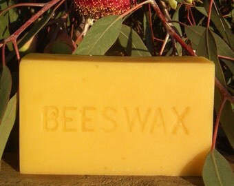 Pure Raw Beeswax 450gm block