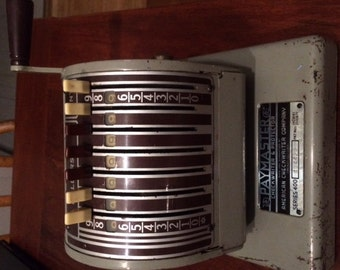 Vintage Check Writer and Protector from American Checkwriter Company