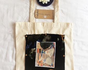 Gustav Klimt Bohemian Art Tote Bag
