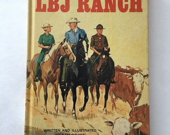ADay at the LBJ Ranch Children's Hardback Book