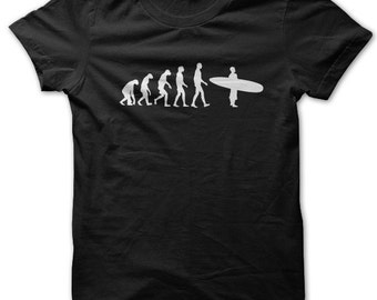 Evolution of a Surfer t-shirt