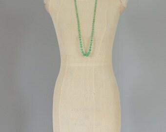 Rare cream 1920s 1930s micropleat silk crepe dress