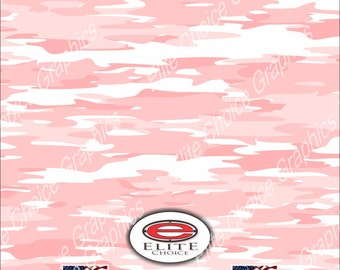 "Traditional Pink 15""x52"" or 24""x52"" Truck/Pattern Print Tree Real Camouflage Sticker Roll or Sheet"
