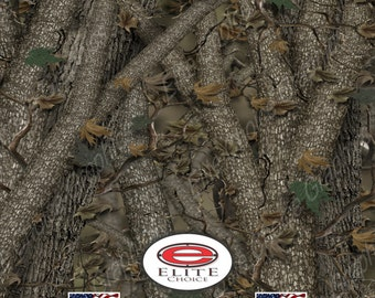 """Tree Forest 15""""x52"""" or 24""""x52"""" Truck/Pattern Print Tree Real Camouflage Sticker Roll or Sheet"""