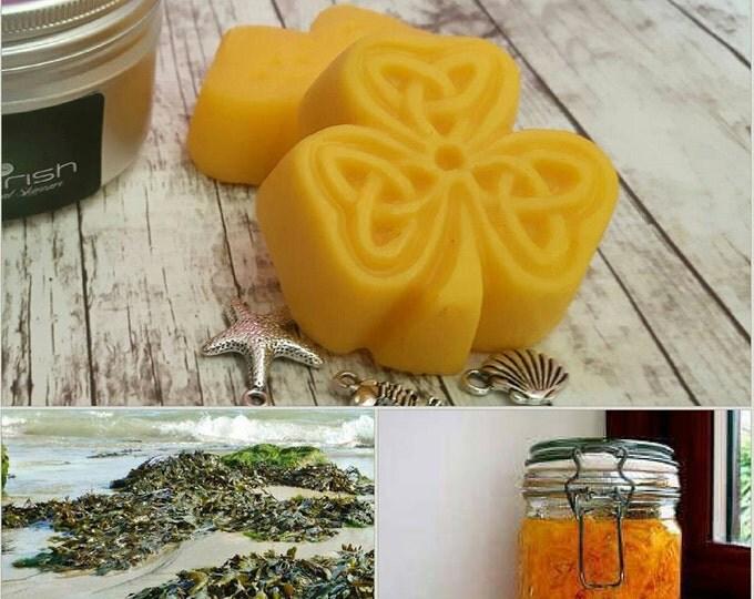 SOLID LOTION BAR x 2. Vegan. Organic/Natural.  Carrot Tissue Oil, Babassu Oil & Kokum Butter.