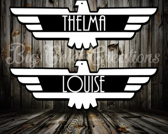 Thelma & Louise Decals