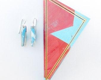 Crisp delicate earrings