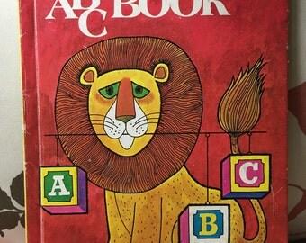 My ABC Book -- Vintage Children's Book