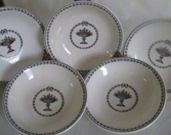 """Copeland Spode """"Chaplet"""" #655338  cereal bowls - set of 3"""