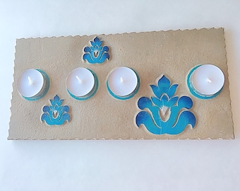 Candle holder | candle tray | Tea light candle