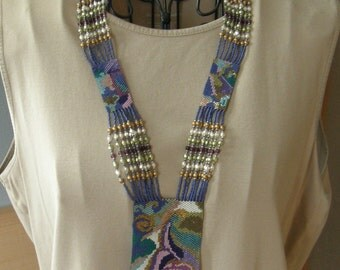 Peyote Beaded Necklace