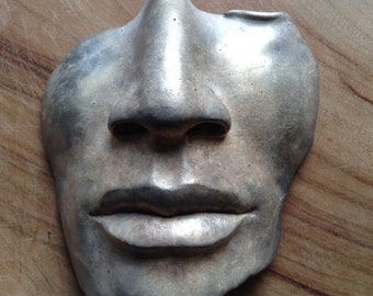 Mask in Bronze
