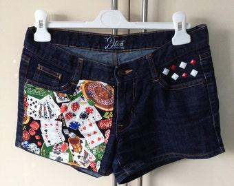 Las Vegas Denim Shorts