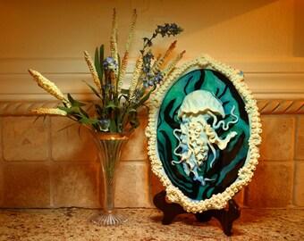 Jellyfish Sculpture Home Decor