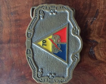Vintage Metal Belt Buckle