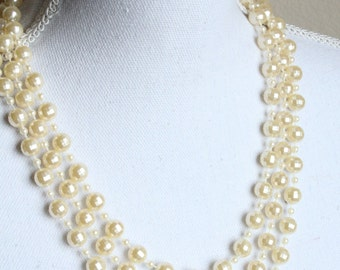 Vintage beaded necklaces 60-s