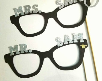 Mr. and Mrs. Photo Prop