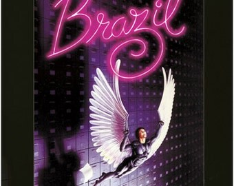 Vintage Movie Poster Brazil Terry Gillam Robert De Niro Rare New Hot 24x36