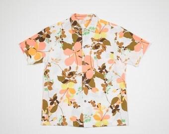 50s Hawaiian short sleeved shirt