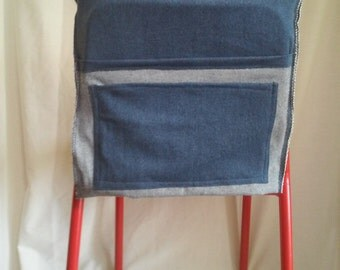 Denim Chair Cover For kids, classroom, or playroom