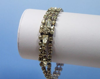 Vintage, 1950s, Diamante Bracelet (2432)