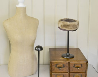 Cast Iron Hat Display Stand