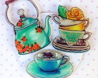 Tea Time Kettle Set