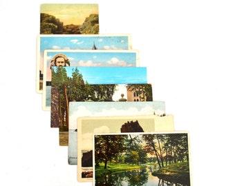 Vintage Unused Maine Postcards - ME Post Cards
