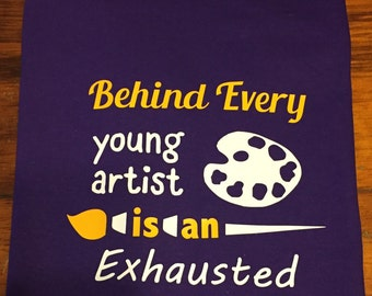 Behind Every Young Artist Is An Exhausted Art Teacher