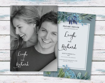 Customized Printable Wedding Invitation