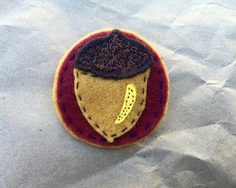 lil' acorn pin