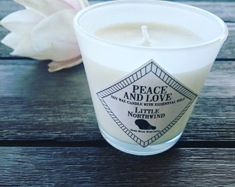 Candle Peace And Love soy wax