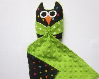 Doudou with plush OWL