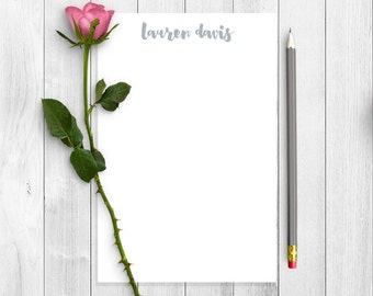 Personalized Note Pad, Personalized Notepad, Personalized Stationery, Personalized Stationary, Gift For Her, Writing Pad, Writing Paper