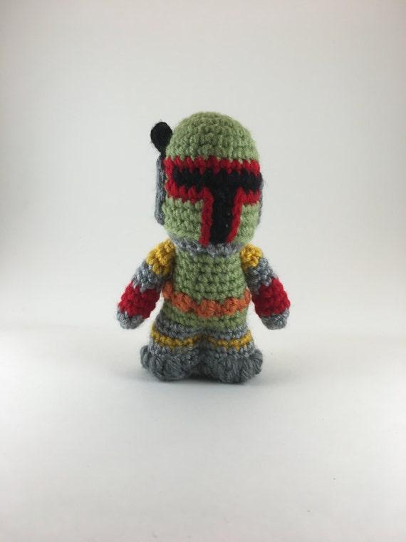 Amigurumi Free Pattern Dinosaur : Crochet Amigurumi Boba Fett