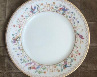 Audubon bread and butter plate