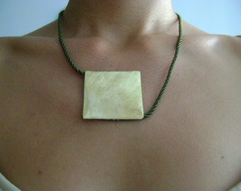 Handmade fashion geometric necklace