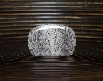 Belt Buckle – Animal print belt buckle - Interchangeable Belt Buckle – Snake belt buckle – Square shape belt buckle - NF-001