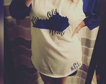 """Kentucky Baseball Shirt, """"My Old Kentucky Home"""""""