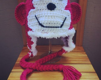 Monkeying Around Crochet Hat