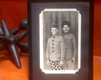 Vintage Photos - Clown School