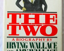 Vintage The Two: The Story of the Original Siamese Twins Hardcover – March 15, 1978  by  Irving Wallace  and  Amy Wallace