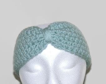Crochet ear warmer, winter ear warmer, crochet headband, woman ear warmer, winter headwrap