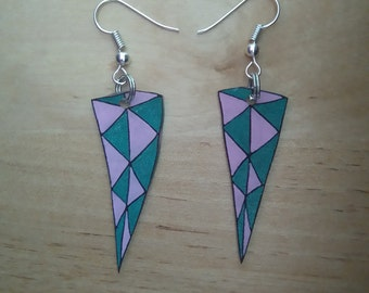 Abstract earrings 4