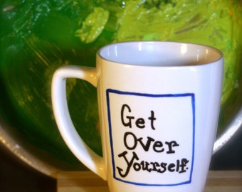 Get Over Yourself (blue square)